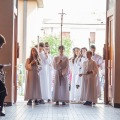 Fejring i kirken - procession