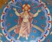 Loftsmaleri af Jesus Kristus