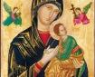 Ikon af Jomfru Maria med Jesus-barnet.